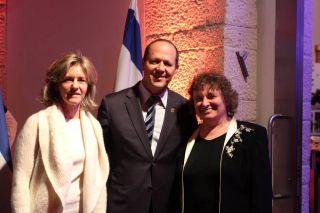 Прием в мэрии Иерусалима, фото Израиль в лицах, А.Токарь