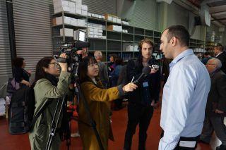 Пресс-тур GPO в Оперативный центр ЦИК, фото Израиль в лицах