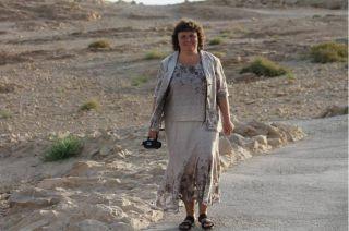 Элеонора Гройсман, подъем на Масаду, фото Израиль в лицах