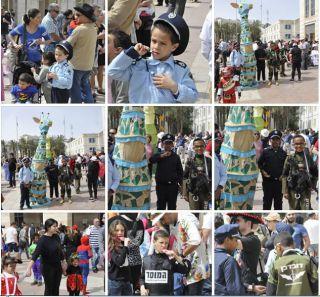 Пуримский карнавал в Иерусалиме, фоторепортаж Израиль в лицах