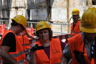 Строительство метротрамвая, фото Израиль в лицах