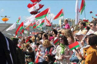 Парад Победы в Минске, фото Элеонора Гройсман