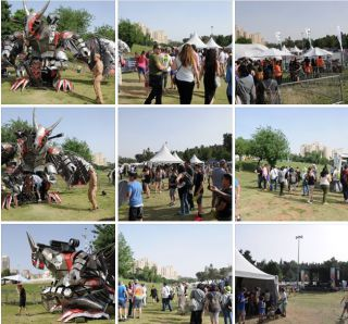 Фестиваль Geek Picnic, фоторепортаж Израиль в лицах
