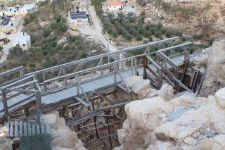 Пресс-тур GPO во дворец Ирода, фото Израиль в лицах