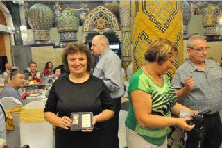 Элеонору Гройсман награждена памятной медалью к 30-летию ликвидации аварии на ЧАЭС