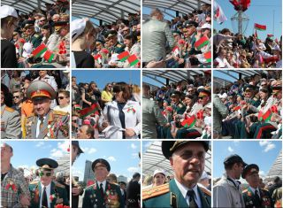 Парад Победы в Минске, фоторепортаж Элеонора Гройсман