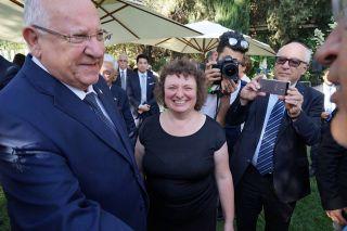 Президент принял послов иностранных государств в своей резиденции, фото Израиль в лицах