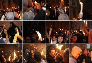 Схождение Благодатного огня, Иерусалим, фоторепортаж Израиль в лицах