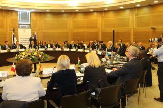 В Кнессете проходит крупнейшая в его истории межпарламентская конференция, фото Израиль в лицах, А.Токарь