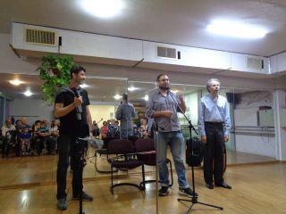 Сергей Школьник - концерт в Иерусалиме, фото Израиль в лицах