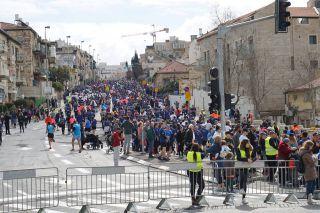 Иерусалимский Марафон-2019, фото Израиль в лицах