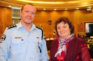 Михаил Зингерман и Элеонора Гройсман, Кнессет, фото Израиль в лицах