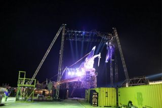 Оперный фестиваль на Масаде, подготовка, фото Израиль в лицах